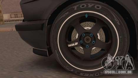 BMW 525i E34 2.0 para GTA San Andreas traseira esquerda vista