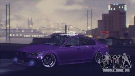 Real Live ENB para GTA San Andreas por diante tela
