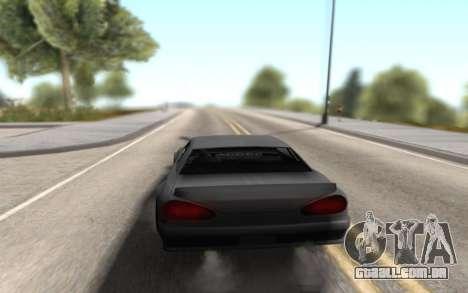 Elegy Drift by Randy v1.1 para GTA San Andreas traseira esquerda vista