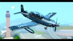 Beechcraft T-6 Texan II United States Navy 2 para GTA San Andreas