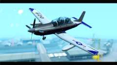 Beechcraft T-6 Texan II  United States Navy para GTA San Andreas