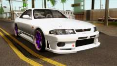 Nissan Skyline R33 Drift JDM para GTA San Andreas
