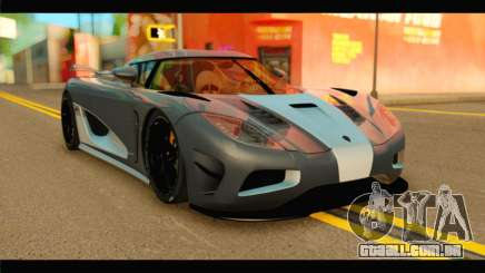 Koenigsegg Agera R 2011 Stock Version para GTA San Andreas