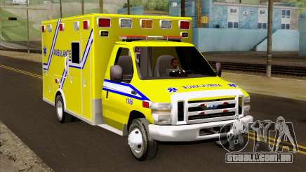 Ford F-450 2014 Quebec Ambulance para GTA San Andreas