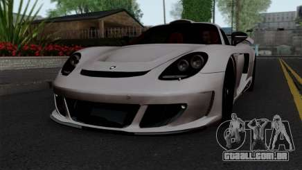 Gemballa Mirage GT v1 Windows Down para GTA San Andreas