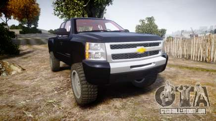 Chevrolet Silverado 1500 LT Extended Cab wheels3 para GTA 4