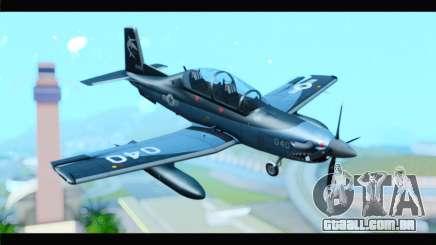 Beechcraft T-6 Texan II United States Navy 2 para GTA San Andreas