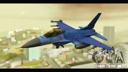 Mitsubishi F-2A JASDF Blue v2.0 para GTA San Andreas