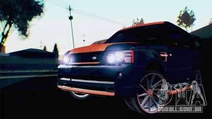 Range Rover Sport 2012 Samurai Design para GTA San Andreas