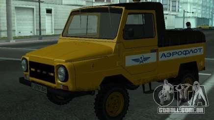 LuAZ-2403 Aeroflot para GTA San Andreas