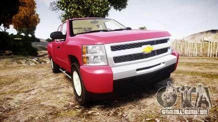 Chevrolet Silverado 1500 LT Extended Cab wheels1 para GTA 4