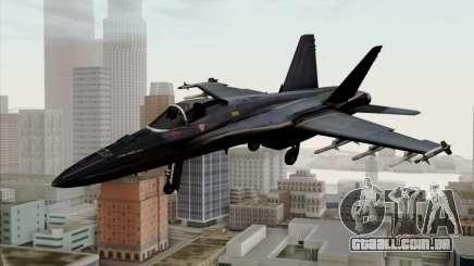 FA-18 HARV para GTA San Andreas