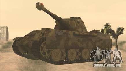Pz.Kpfw. V Panther II Desert Camo para GTA San Andreas