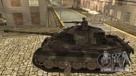Panzerkampfwagen Tiger II para GTA San Andreas