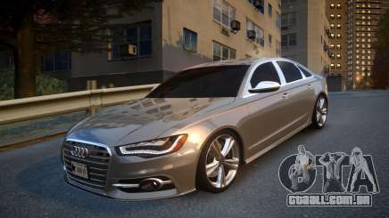 Audi S6 v1.0 2013 para GTA 4