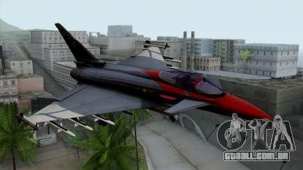 Eurofighter Typhoon 2000 para GTA San Andreas