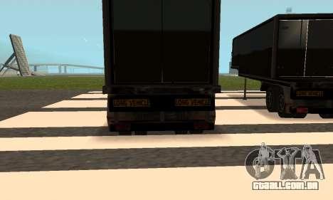 PS2 Article Trailer para vista lateral GTA San Andreas
