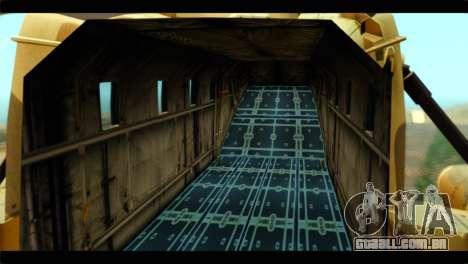 GTA 5 Cargobob para GTA San Andreas vista direita