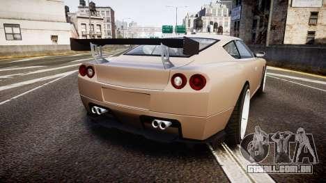 Dewbauchee Super GTO 77 para GTA 4 traseira esquerda vista