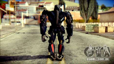 Lockdown Skin from Transformers para GTA San Andreas segunda tela