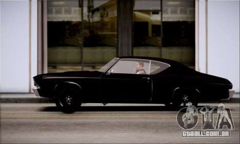 Chevrolet Chevelle SS para GTA San Andreas esquerda vista