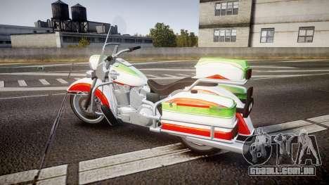 GTA V Western Motorcycle Company Sovereign IRN para GTA 4 esquerda vista