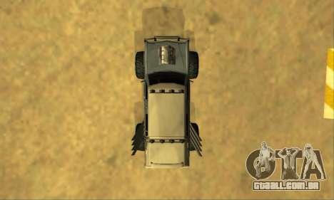 Hellish Extreme CripVoz RomeRo 2015 para GTA San Andreas interior