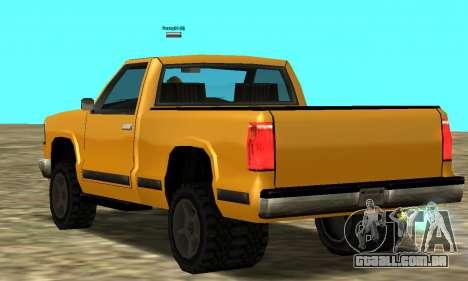 PS2 Yosemite para GTA San Andreas vista direita