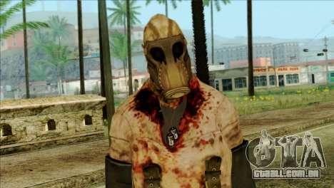 Order Soldier Alex Shepherd Skin para GTA San Andreas terceira tela
