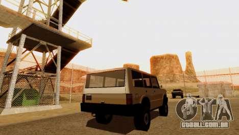 DLC 3.0 Militar atualização para GTA San Andreas décima primeira imagem de tela