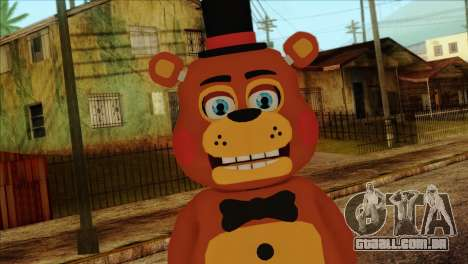 Toy Freddy from Five Nights at Freddy 2 para GTA San Andreas terceira tela