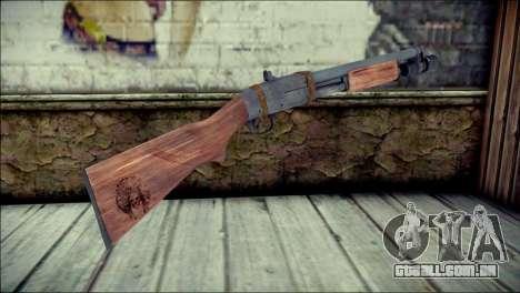 Rumble 6 Chromegun para GTA San Andreas segunda tela