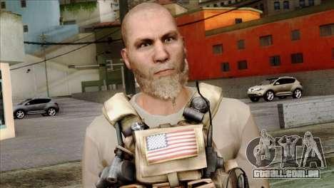 Officer from PMC para GTA San Andreas terceira tela
