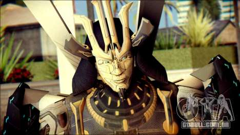 Drift Skin from Transformers para GTA San Andreas terceira tela