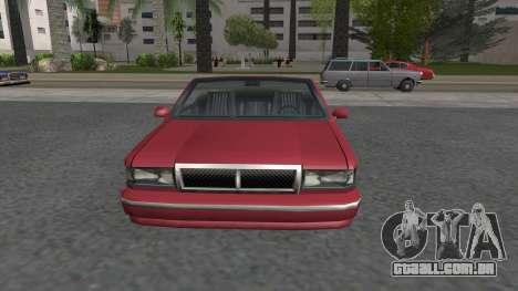 Premier Cabrio para GTA San Andreas vista direita