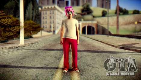 Skin Kawaiis GTA V Online v3 para GTA San Andreas