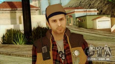 Big Rig Alex Shepherd Skin para GTA San Andreas terceira tela