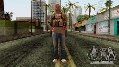 Officer from PMC para GTA San Andreas