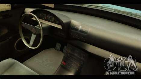 GTA 5 Ubermacht Zion XS IVF para GTA San Andreas vista direita