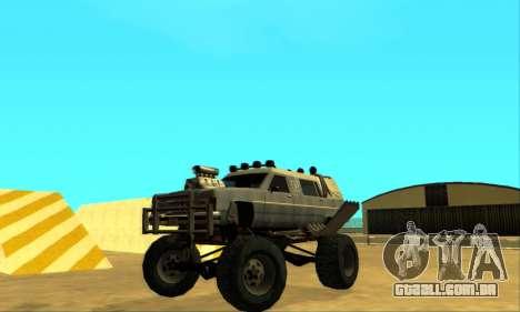 Hellish Extreme CripVoz RomeRo 2015 para GTA San Andreas vista superior
