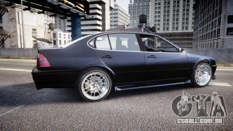 Emperor Lokus LS 350 Race GT para GTA 4 esquerda vista
