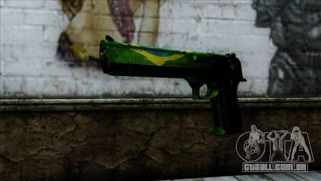 Desert Eagle Brazil para GTA San Andreas