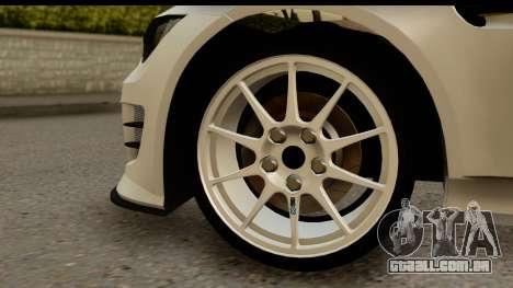 BMW M3 E90 Hamann para GTA San Andreas vista traseira