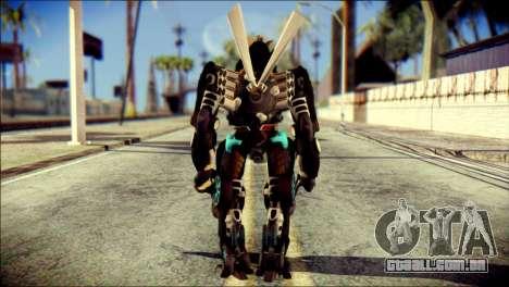 Drift Skin from Transformers para GTA San Andreas segunda tela