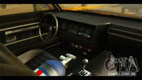 GTA 5 Declasse Sabre GT Turbo IVF para GTA San Andreas vista direita