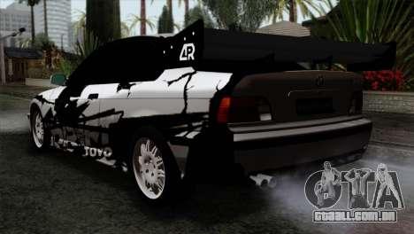 BMW M3 E36 Drift Editon para GTA San Andreas esquerda vista