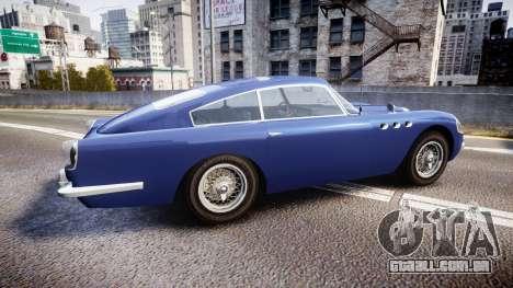 GTA V Dewbauchee JB 700 para GTA 4 esquerda vista