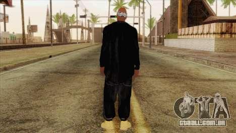 Tupac Shakur Skin v1 para GTA San Andreas segunda tela