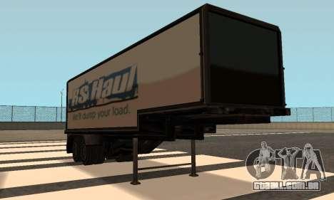 PS2 Article Trailer para GTA San Andreas