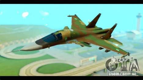 Sukhoi SU-34 IRIAF para GTA San Andreas